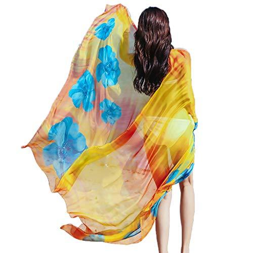 (FANGFA Sunscreen Beach Shawl Wrap Summer Tourism Fashion Soft Multifunction Shawls for Women (22 Colors are Optional))