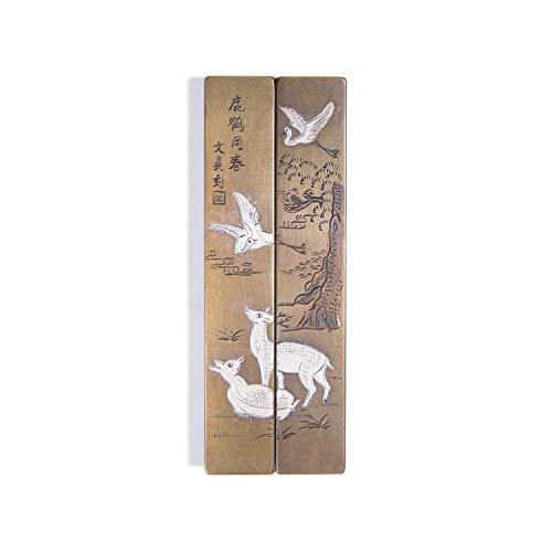 鹿鶴同春 Chinese Handmade Paperweight by Project V.O.C. | PPW06