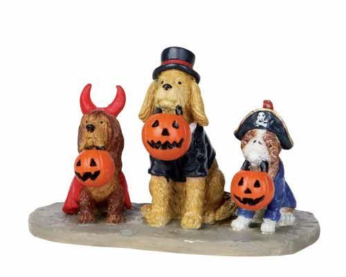 Lemax Spooky Town Halloween Trick or Dog Treats 12887 ()