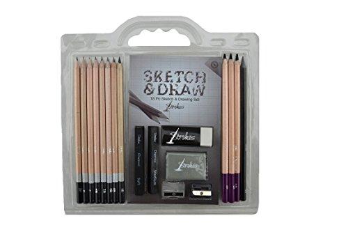 sketch draw pencil set - 3