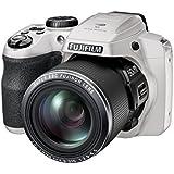 Fujifilm FinePix S9900W Digital Camera with 3.0-Inch LCD (White) (International Model) No Warranty