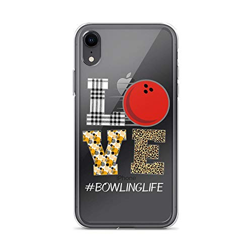 iPhone XR Pure Anti-Shock Clear Case Love Bowling Life -