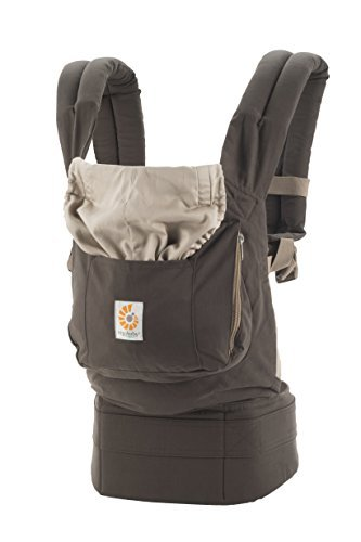 Ergobaby Organic 3 Position Baby Carrier Dark Cocoa
