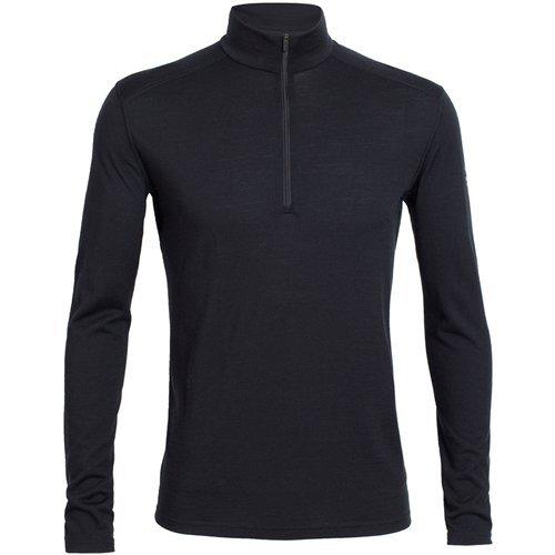 Icebreaker Merino Oasis Midweight Base Layer Long Sleeve Half Zip Pullover Top, New Zealand Merino Wool