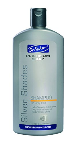 Nourishing Platinum Shampoo for Men & Women with Gray/White/Colored Hair (13.5 fl.oz.) (Shampoo Remove Hair Gray)