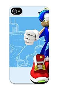 Hot Tpu Cover Case For Iphone/ 5/5S Case Cover Skin Design - Sonic