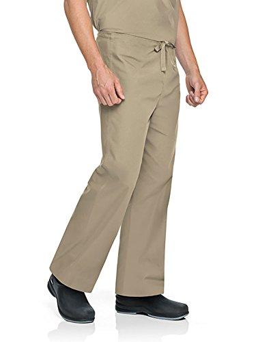 - Landau Big and Tall Comfort Stretch One-Pocket Reversible Drawstring Scrub Pant, Sandstone, Small