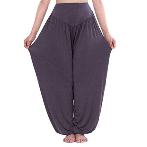 Donna Harem Scuro Primaverile Tempo Di Sportivi Basic Pantaloni Multistrato Libero Grazioso Baggy Yoga Ragazza Grigio Taille Elastica Lunga Moda Nahen Trousers Eleganti Estivi tqOtcwSW6B