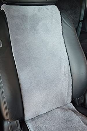 Schiefer Leibersperger Felle Autositzauflage Autositzbezug Autofell Lammfell Premium 36 cm x 138 cm