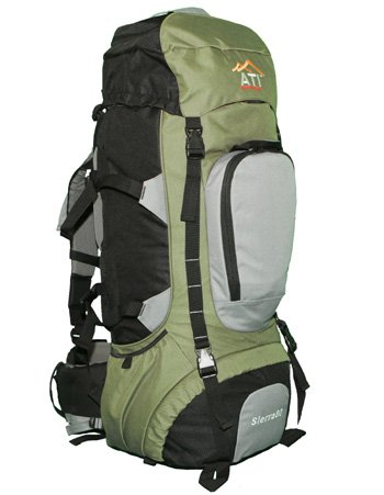 ATI Sierra80 80L Internal Frame Hiking Backpack, Outdoor Stuffs