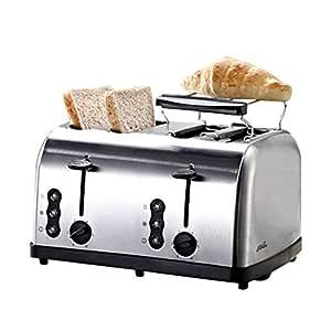 Máquina de pan tostado/multifunción de acero inoxidable tostadora ...