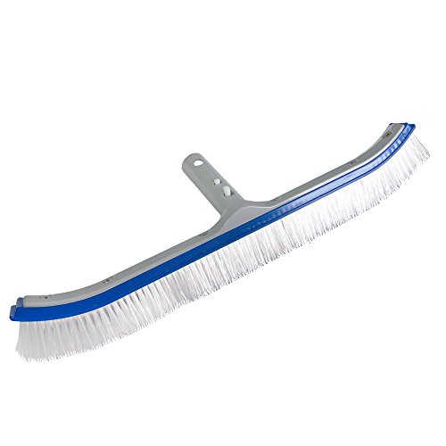 JED Pool Tools Inc 70-262 18-Inch Deluxe Enameled Metal Backed Pool Cleaning Brush by JED Pool Tools