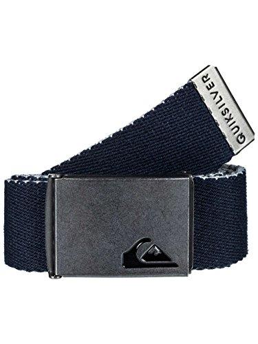 Quiksilver The Jam 4 Webbing Belt in Navy Blazer (Quiksilver Embossed Belt)