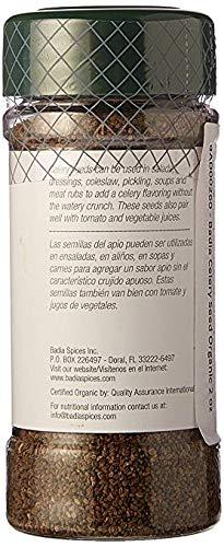 Badia Celery Seed Organic 2 oz, 2 Pack