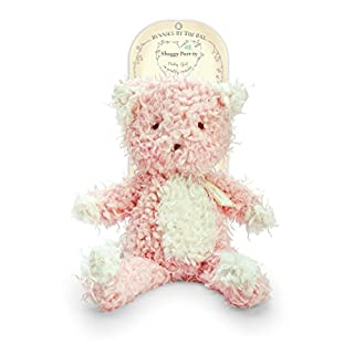 Bunnies By The Bay Shaggy Purrty Kitty Plush Toy, Pink