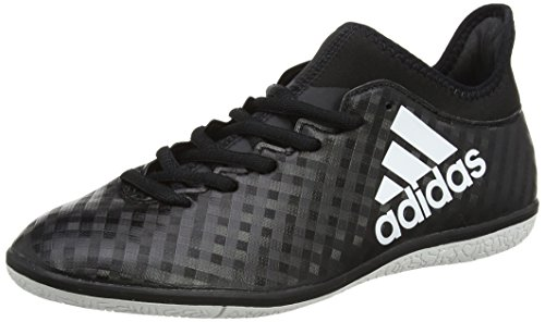 adidas X 16.3 in, Scarpe da Calcio Uomo Nero (Core Black/Footwear White/Core Black)