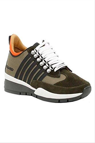 Größe 251 46 Herren 1295 Armeegruen Dsquared W17SN101 Sneaker Schuhe Farbe f8wWOqT