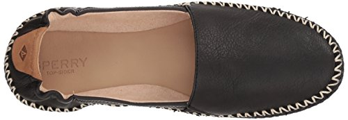 Sperry Top-sider Donna Tramonto Ella In Pelle Mocassino Nero
