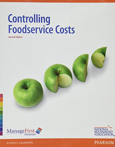 ManageFirst: Controlling FoodService Costs with Online Testing Voucher and Exam Prep (2nd Edition)