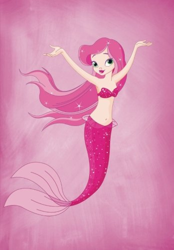 Download Pink Mermaid Wide Ruled Notebook/Journal (A5): A Journaling Composition Book for Teen Girls and Children (Creative Books For Writing and Learning for Children) pdf epub