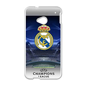 Happy Real Madrid Logo Cell Phone Case for HTC One M7