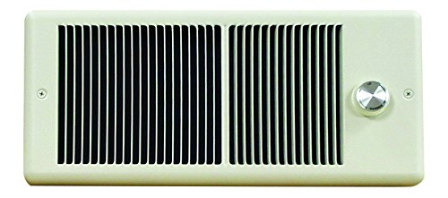 - TPI HF4315T2RPW Low Profile Fan Forced Wall Heater, Double Pole Built-in Thermostat, 240/208 Volts, 1500/1124 Watts, All Metal Construction, White