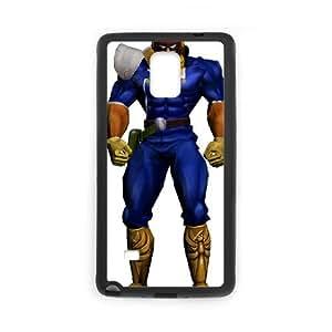 Samsung Galaxy Note 4 Cell Phone Case Black_Super Smash Bros Captain Falcon_004 Hssje