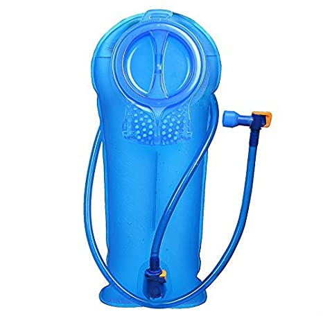 Unigear Bolsa De Agua para Mochila Hidratación 2/2.5/3L Depósito De Dgua Portátil TPU Libre de BPA Tubo Desmontable Apertura Grande Bolsa Hidratación ...