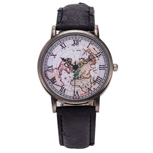 Airplane Watch Design Black - 8