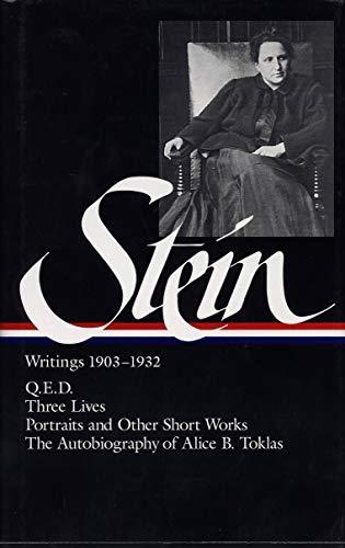 Stein: Writings 1903-1932