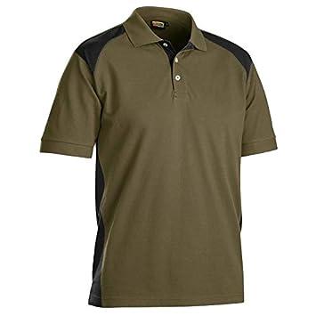 blakläder Polo (2 colores Caqui/Negro, 3324 1050 2499, talla XS ...