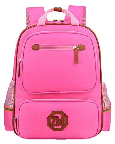 Shoulders Pink Backpack Bag Big School Pink Daypack Ourdoor Travel Big Unisex Casual Weekend Daypack 78fwq5x5