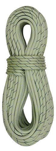 EDELRID Tommy Caldwell DuoTec 9.6mm Dynamic Climbing Rope - Lime 70m