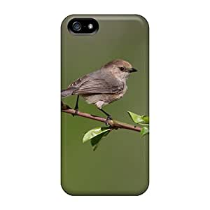 Tpu Shockproof/dirt-proof Bird On A Flowering Tree Branch Cover Case For Iphone(5/5s)
