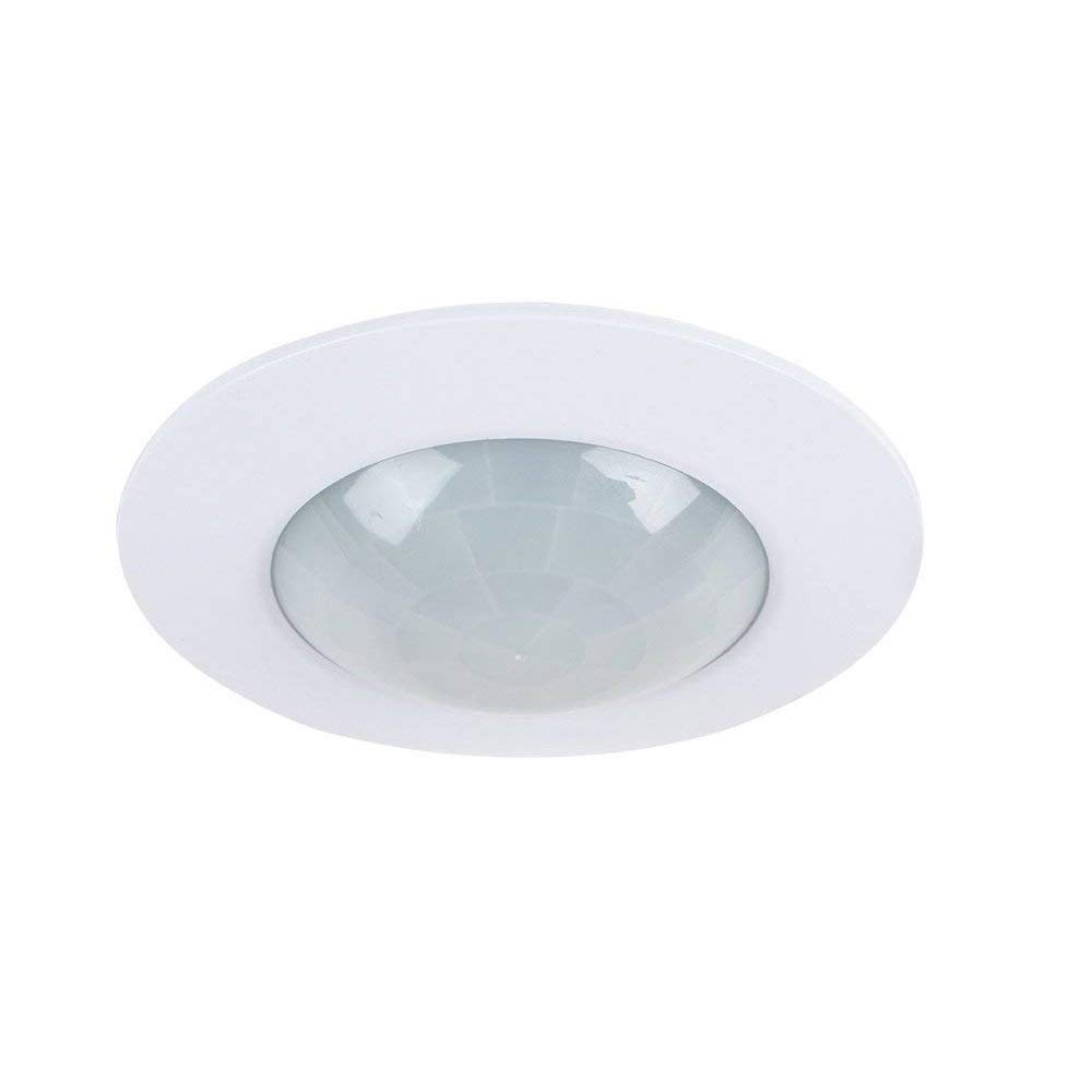 Recessed 360 degree pir ceiling occupancy motion sensor detector light switch amazon co uk diy tools