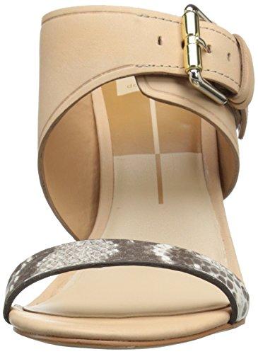 Dolce Vita Frauen Maitlyn Offener Zeh leger Knoechel Riemen Sandalen Natural Leather