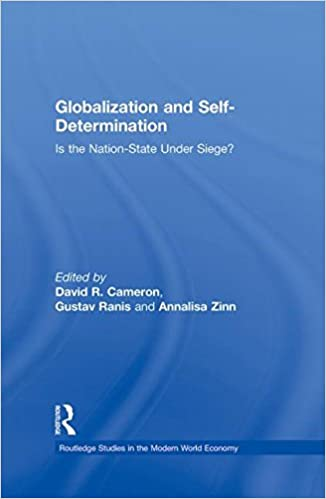 is the nation state under siege? / edited by David R. Cameron, Gustav Ranis and Annalisa Zinn.
