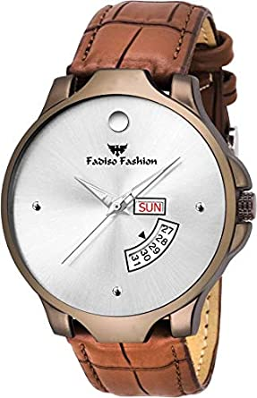 Fadiso fashion FF2056-WH White DAIL Day & Date Watch