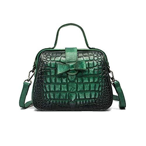 Bolso Bolso Estilo Viaje Mujer Verde Chino Minimalista Retro Étnico De La Moda RqSqHw1U0