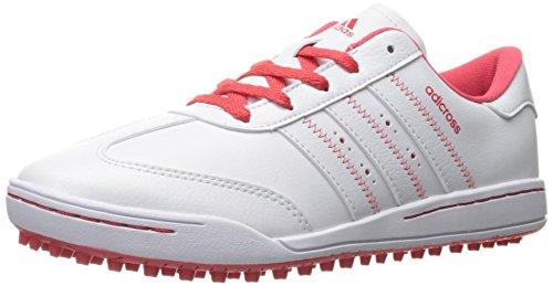 adidas Girls' Jr Adicross V Ftwwht/Ftww Skate Shoe, White, 6 M US Big Kid