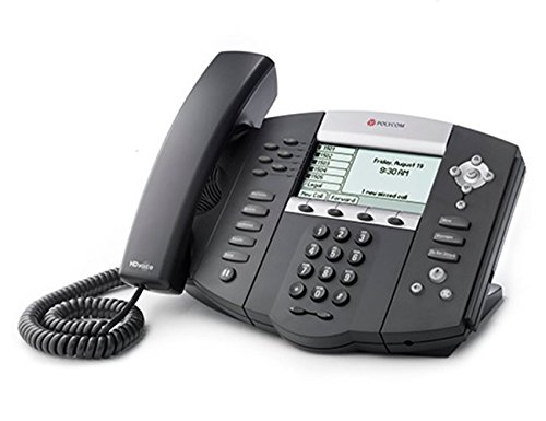 Key Voicemail (Polycom SoundPoint IP 650 Phone with Power Supply)