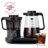Dash Rapid Cold Brew Coffee Maker with Easy Pour Spout, 42 oz 1.5 L Carafe Pitcher, Black Review