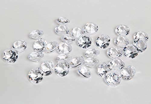 Acrylic Diamonds Gems Crystal Rocks for  - Diamond Round Vases Shopping Results
