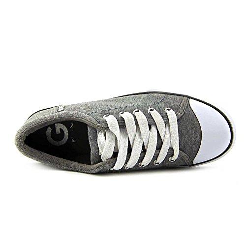 G Da Indovinare Womens Oona Sneakers Stringate Basse In Tessuto Grigio Chiaro