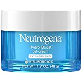 Neutrogena Hydro Boost Hyaluronic Acid Hydrating Face Moisturizer Gel-Cream to Hydrate and Smooth Extra-Dry Skin, 1.7 oz (2 Pack)