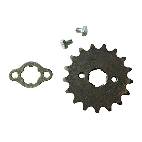 JRL 420 17T 20mm Drive Front Counter Sprocket Fit For ATV Pit Bike Lifan YX Loncin 125 ()
