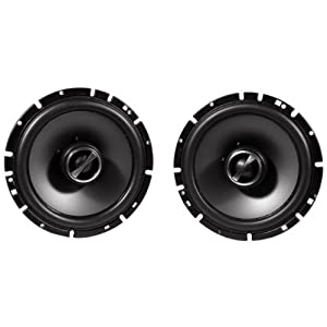"Package: Pair Alpine Sps-610c 6.5"" 2 Way Pair of Component Car Speakers + Alpine Sps-610 6.5"" 2 Way Pair of Coaxial Car Speakers"