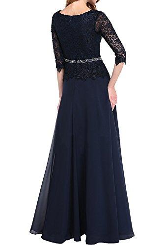 (ウィーン ブライド)Vienna Bride イブニングドレス セレブリティドレス ロングドレス Aライン 丸襟 透け感 半袖 イベント ベルト レース アップリケ