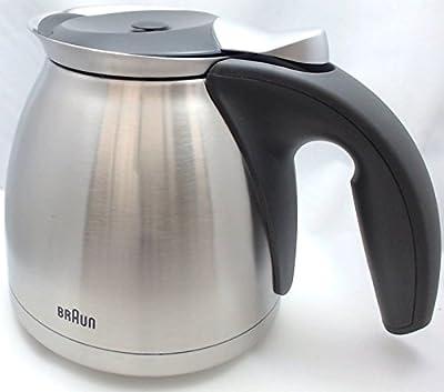 Braun Coffeemaker Metal Thermo Jar