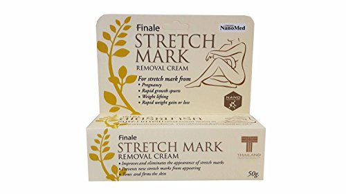 2 packs of Finale Stretch Mark Removal Cream: For Strech Mark From Pregnancy, Rapid Growth Spurts, Weight Lifting, Rapid Weight Gain or Loss. (50 G/ Pack) (Pads Sr Leg)